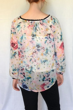 sunny leigh Floral Pheasant Blouse - Alternate List Image