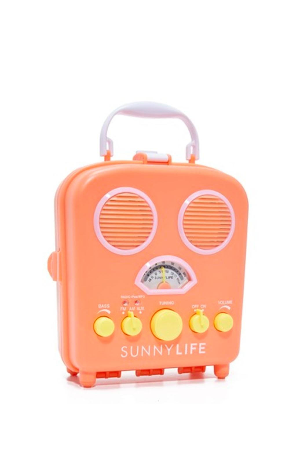 SunnyLife Beach Sounds Amplifier - Front Cropped Image