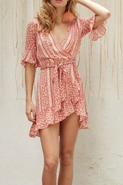 Lost + Wander Suns Out Wrap-Dress - Product Mini Image