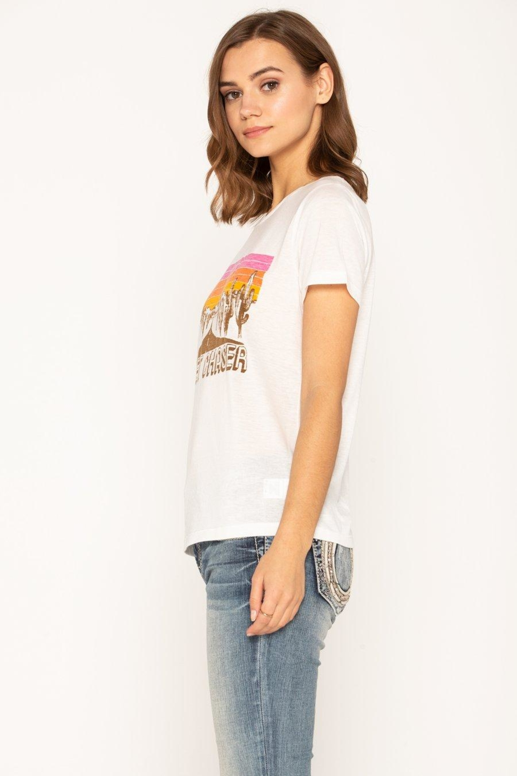 Miss Me Sunset Chaser Tee - Side Cropped Image
