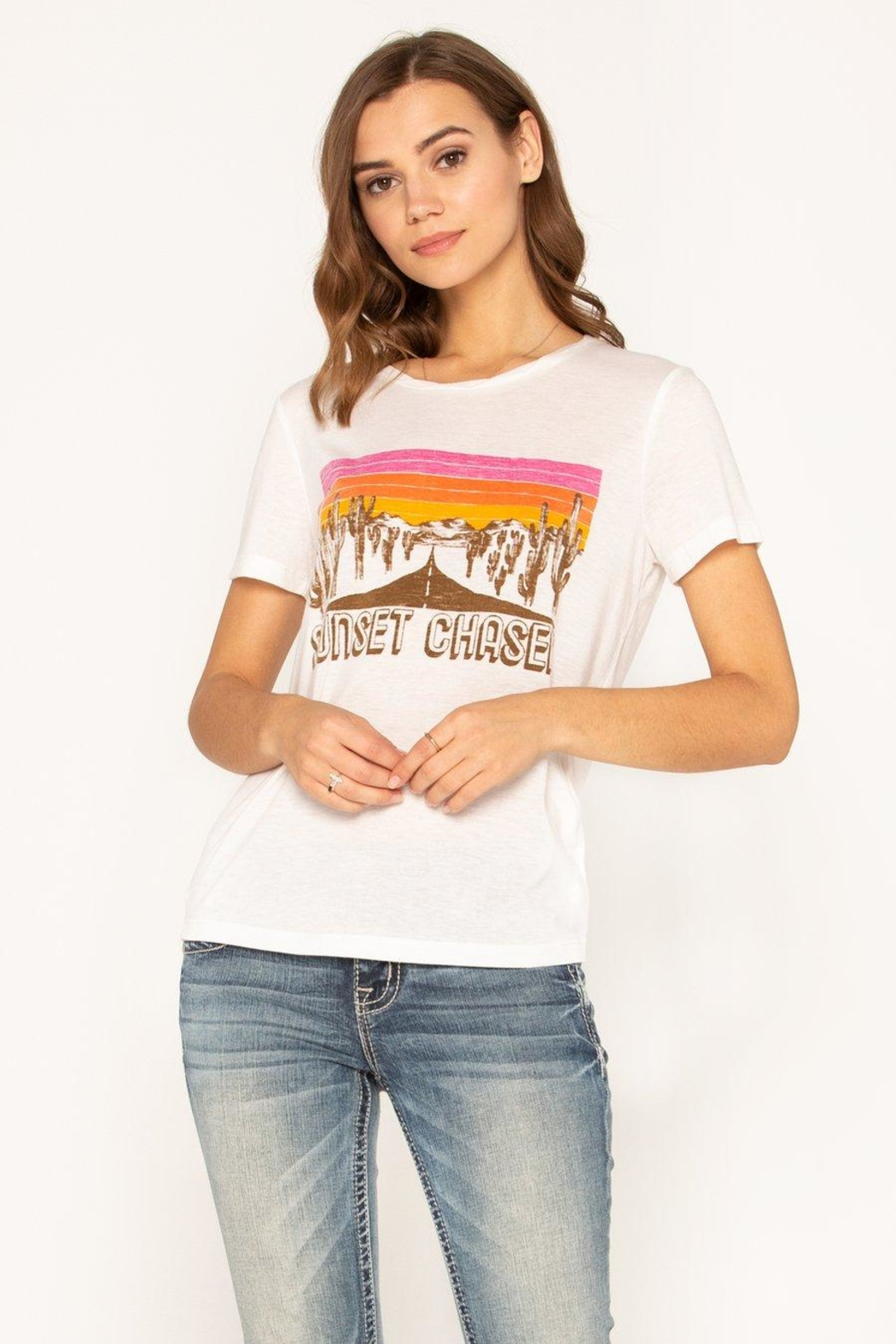 Miss Me Sunset Chaser Tee - Main Image