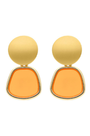 Liza's Jewelry  Sunset Earring - Front cropped
