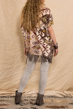 Double D Ranchwear Sunset-On-The Mountain Poncho - Alternate List Image