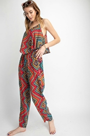 easel Sunset Red Jumpsuit - Other