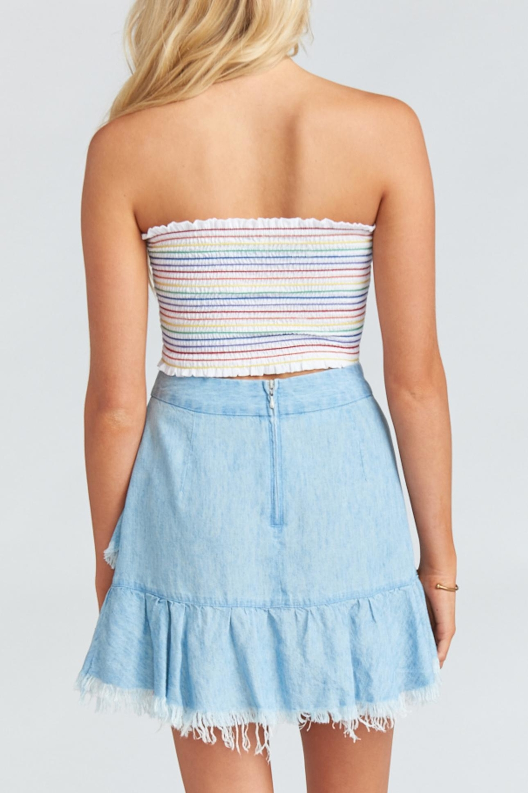 Show Me Your Mumu Sunset Skirt - Side Cropped Image