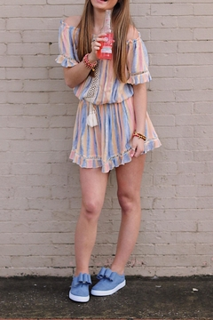 Shoptiques Product: Sunset Stripe Dress