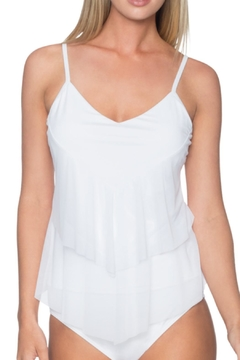 Shoptiques Product: Mesh Tiered Tankini