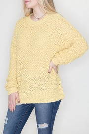 Cherish Sunshine Fluff Sweater - Product Mini Image