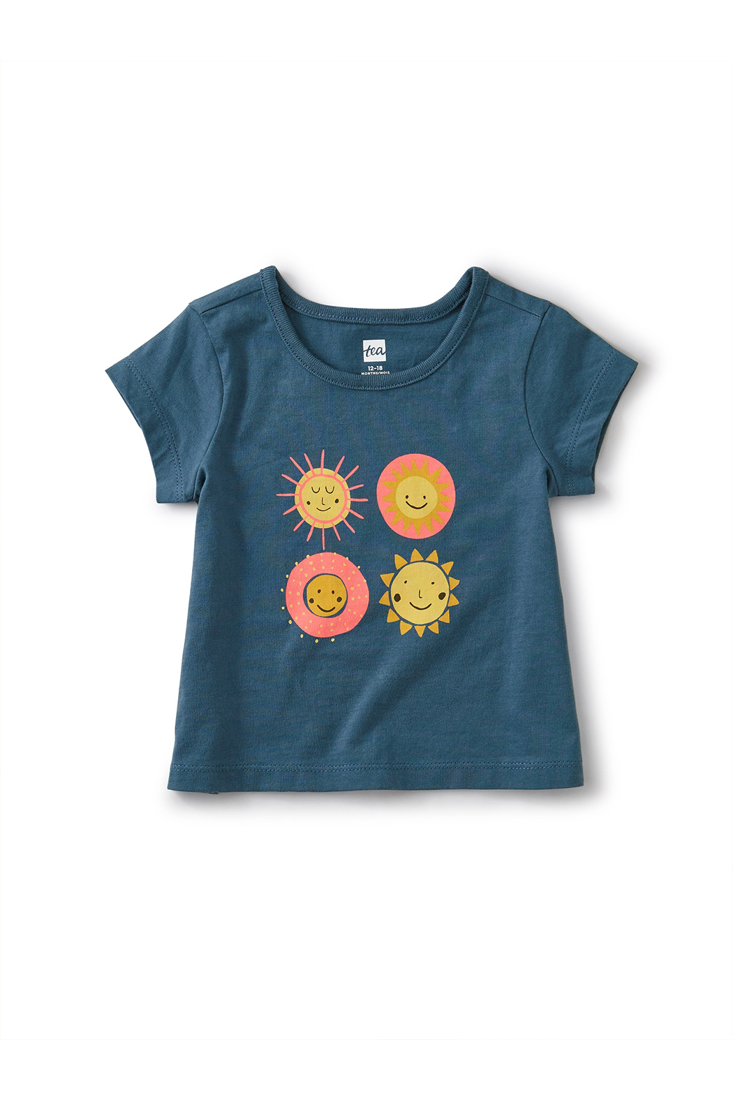 Tea Collection Sunshine Graphic Tee - Front Full Image