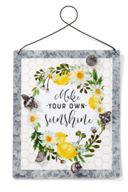 Giftcraft Inc.  Sunshine Magnetic Board w/Magnets - Product Mini Image