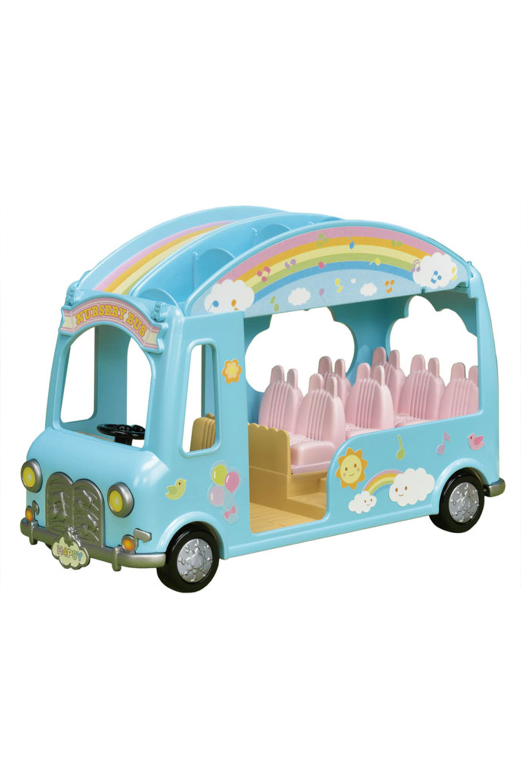 Calico Critters Sunshine Nursery Bus - Front Cropped Image