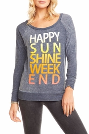 Chaser Sunshine Weekend Raglan - Front cropped