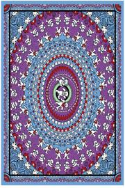Sunshine Joy Blue Bear Tapestry - Product Mini Image