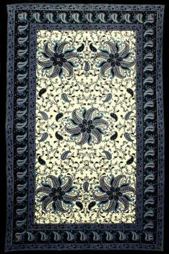 Shoptiques Product: Paisley Pinwheels Tapestry