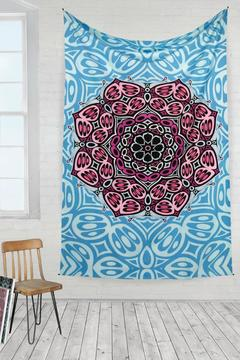 Shoptiques Product: Butterfly Mandala Tapestry