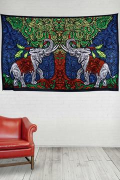 Shoptiques Product: Elephant Tree Tapestry