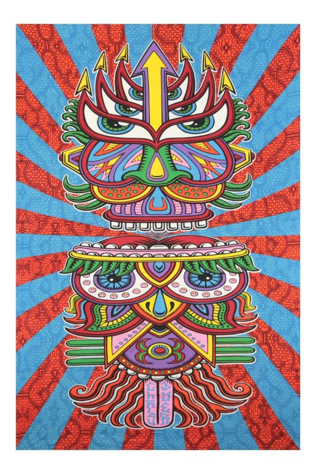Sunshine Joy Hungry Eyes Tapestry - Main Image
