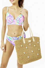 Lilly Pulitzer Sunstone Straw Tote - Other