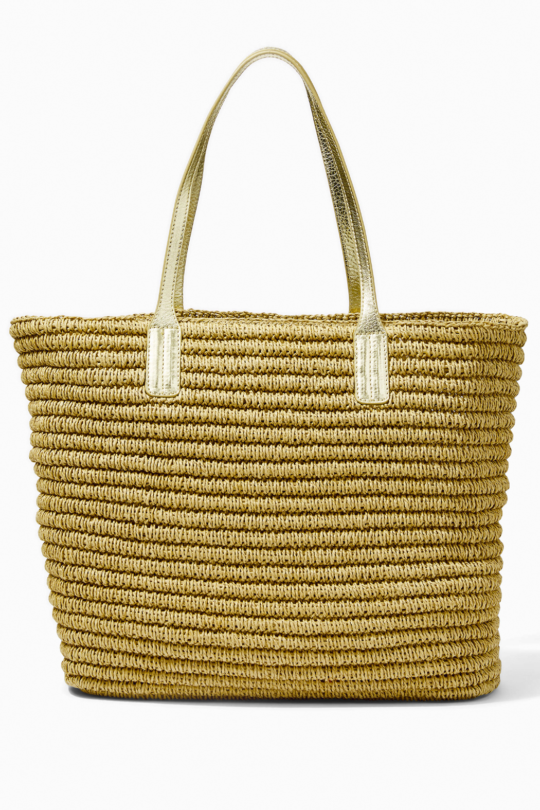 Lilly Pulitzer Sunstone Straw Tote - Side Cropped Image