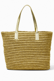 Lilly Pulitzer Sunstone Straw Tote - Side cropped