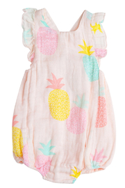 Angel Dear  Sunsuit Pink Pineapple - Product Mini Image