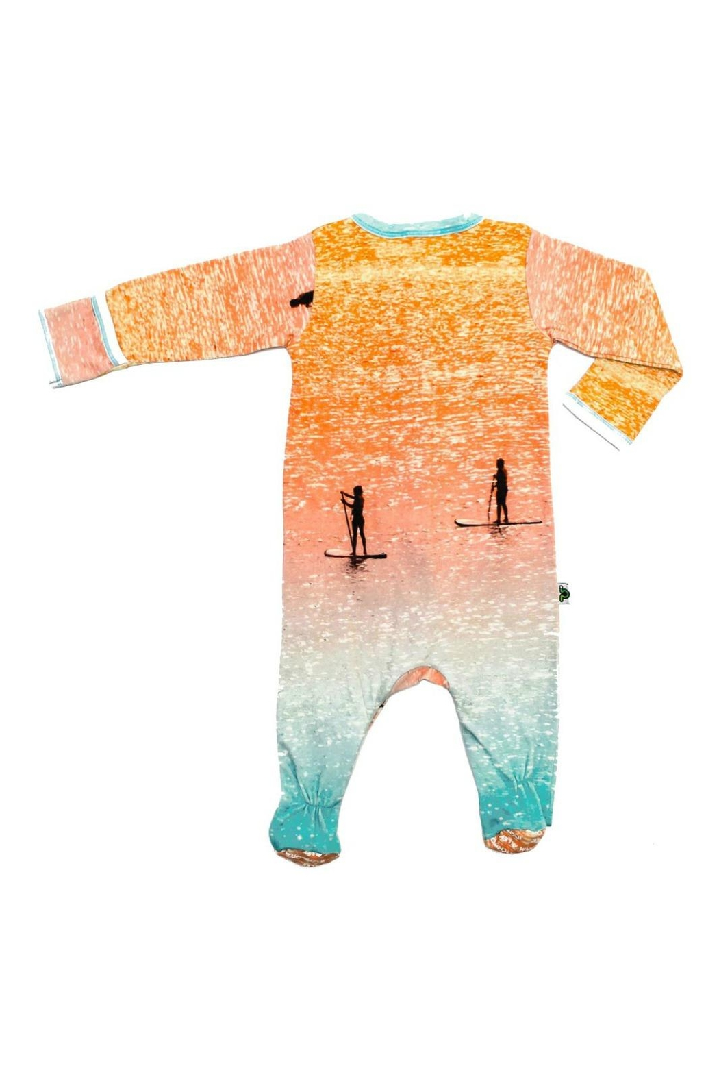 Inchworm Alley Sup Footie Sleeper - Front Full Image