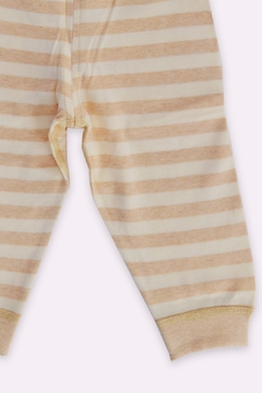 T & Tim Super Cute Striped Pajamas in Organic Cotton - Alternate List Image