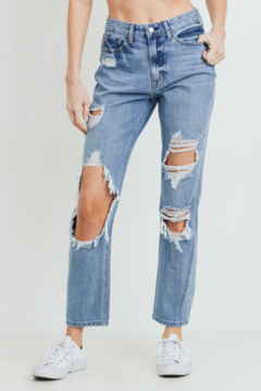 Shoptiques Product: Super Destroyed GF Jeans