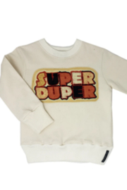 Wee Monster Super Duper Sweatshirt - Product Mini Image