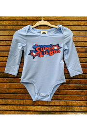 Bird & Bean Super Little Bro/Super Little Sis Onesie - Product Mini Image