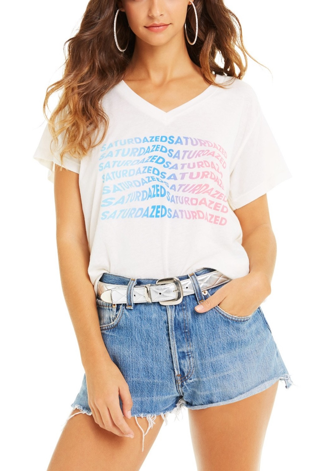 Wildfox Super Saturdaze Romeo Tee - Main Image