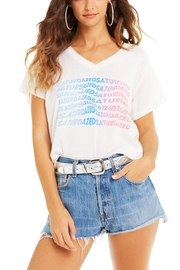 Wildfox Super Saturdaze Romeo Tee - Front cropped