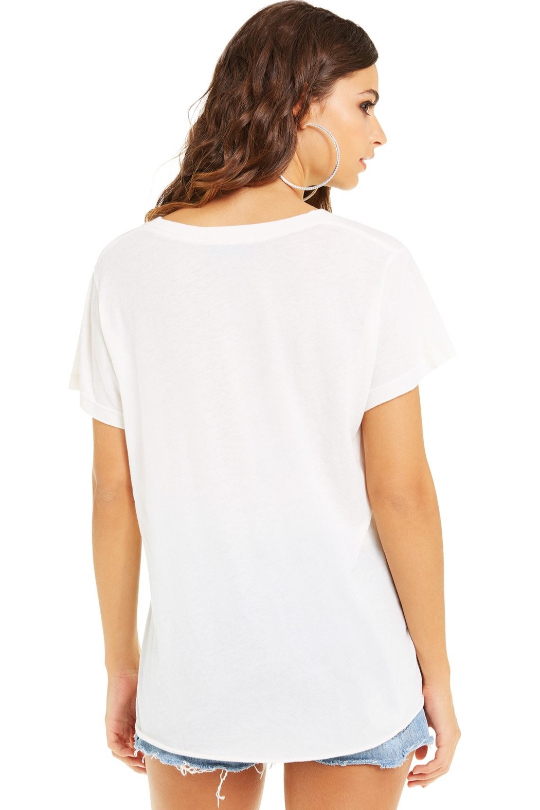 Wildfox Super Saturdaze Romeo Tee - Side Cropped Image