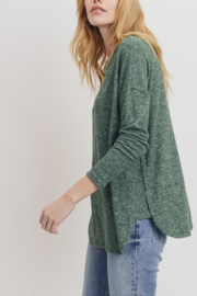 Lyn-Maree's  Super Soft Contrast Top - Product Mini Image