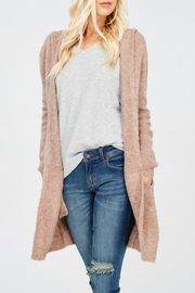 Wishlist Super-Soft Hooded Cardigan - Product Mini Image