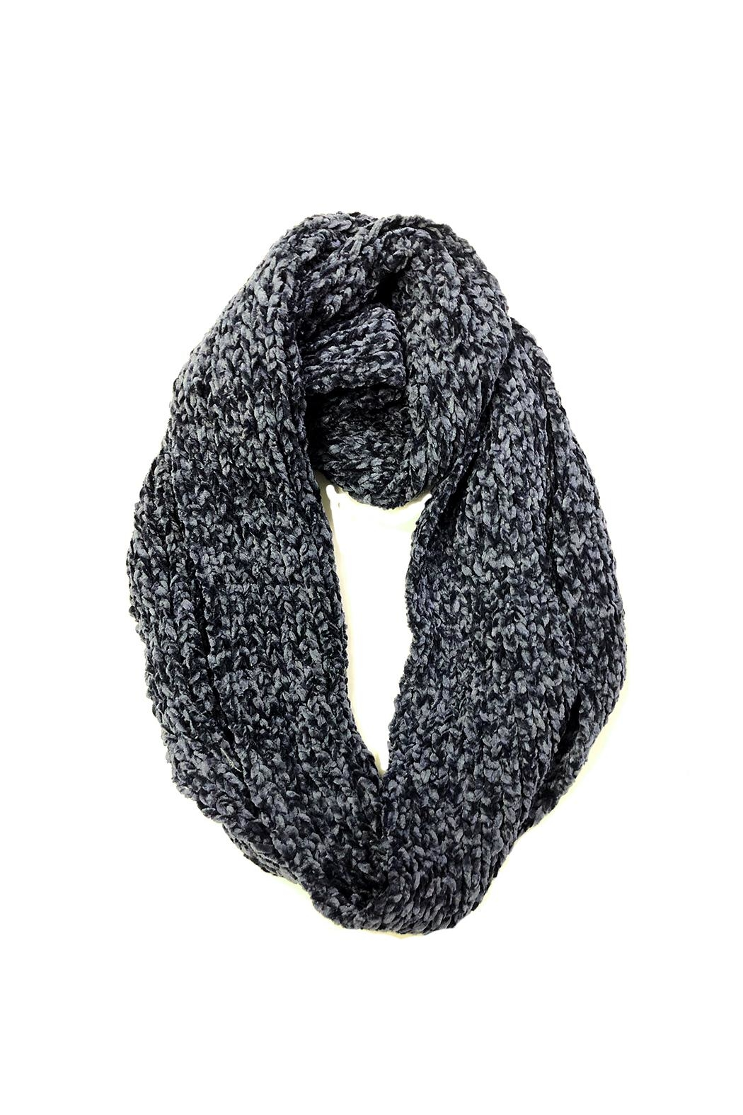 Wona Trading Super-Soft Infinity Scarf - Front Cropped Image