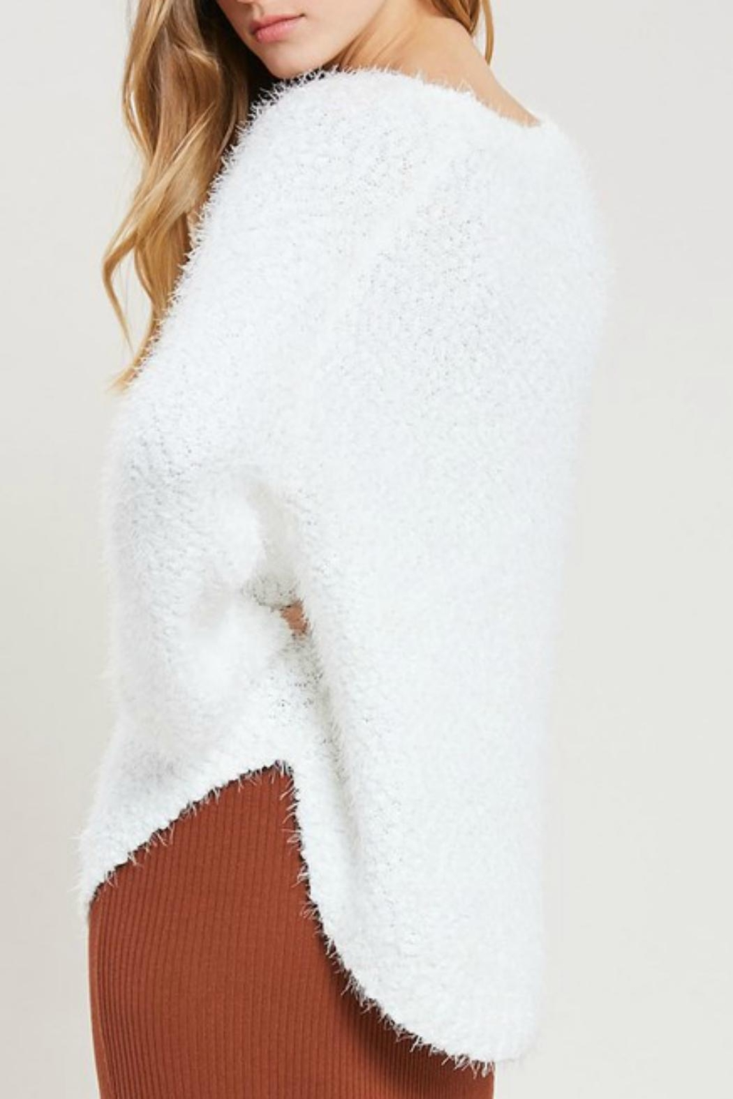 Pretty Little Things Super Softie Sweater - Front Full Image
