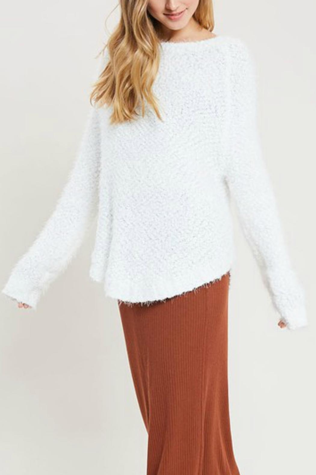 Pretty Little Things Super Softie Sweater - Side Cropped Image