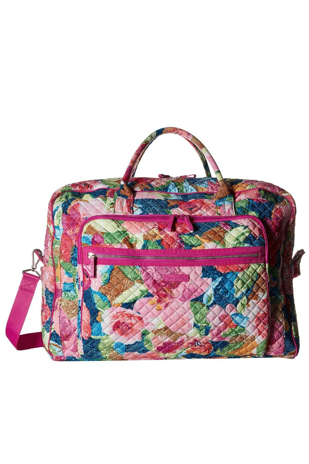 Vera Bradley Superbloom Iconic Weekender from Kentucky by Mimi s ... 6e888ac30a