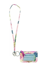 Vera Bradley Superbloom Lanyard/zip-Id Set - Product Mini Image