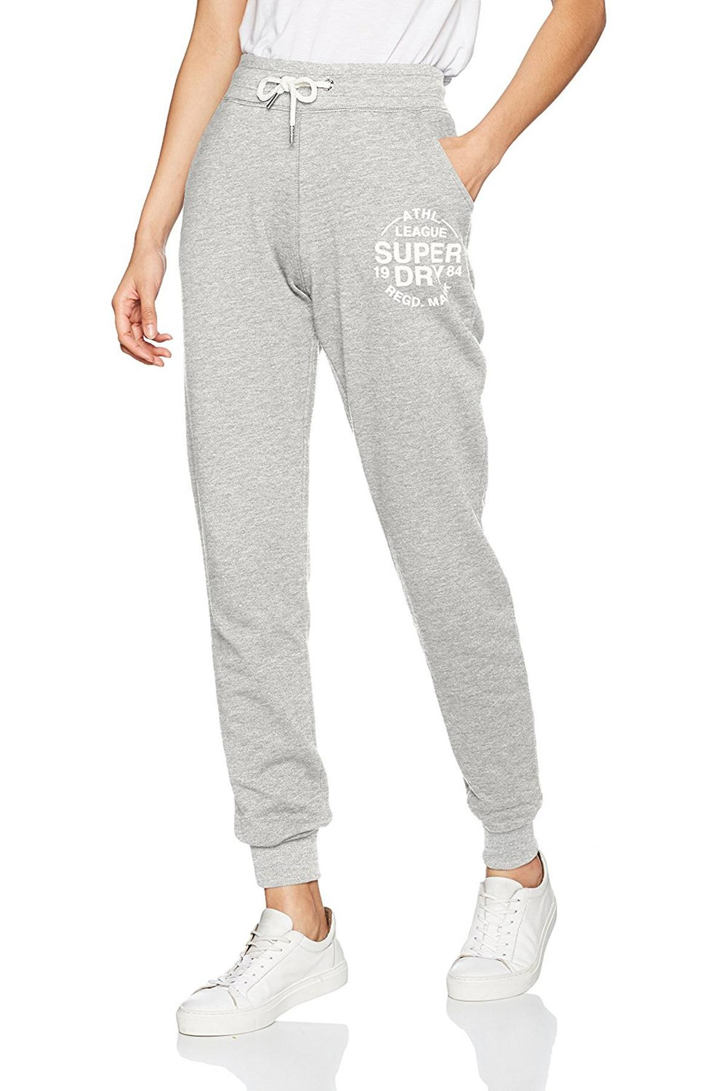 Superdry Athletic League Cuff Joggers - Main Image