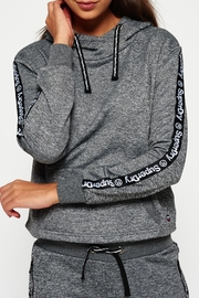Superdry Fashion Fitness Crop Hood - Front cropped