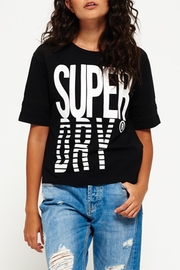 Superdry Mesh Panelled Tee - Front cropped