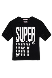 Superdry Mesh Panelled Tee - Product Mini Image