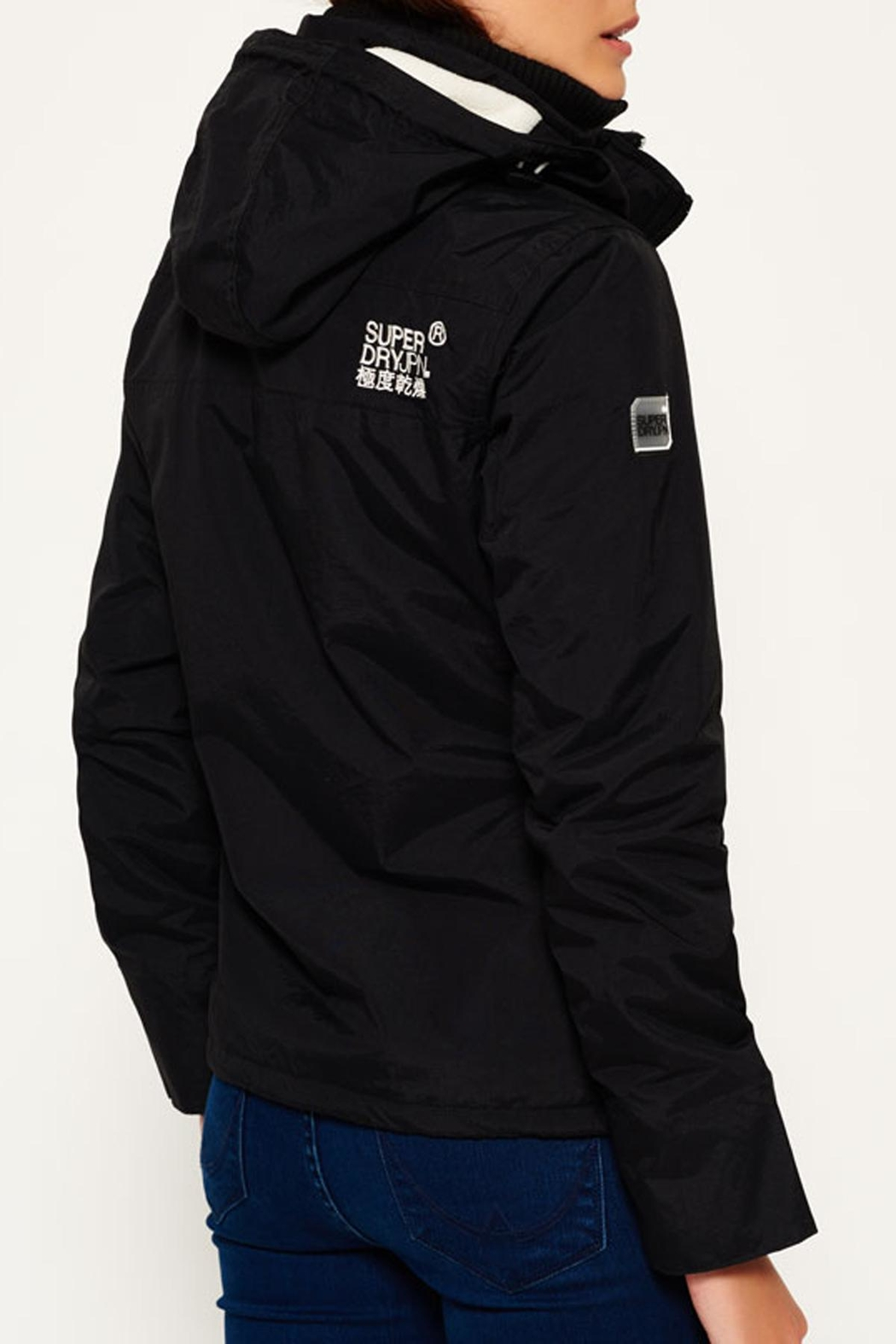Superdry Popzip Windcheater Jacket - Front Full Image