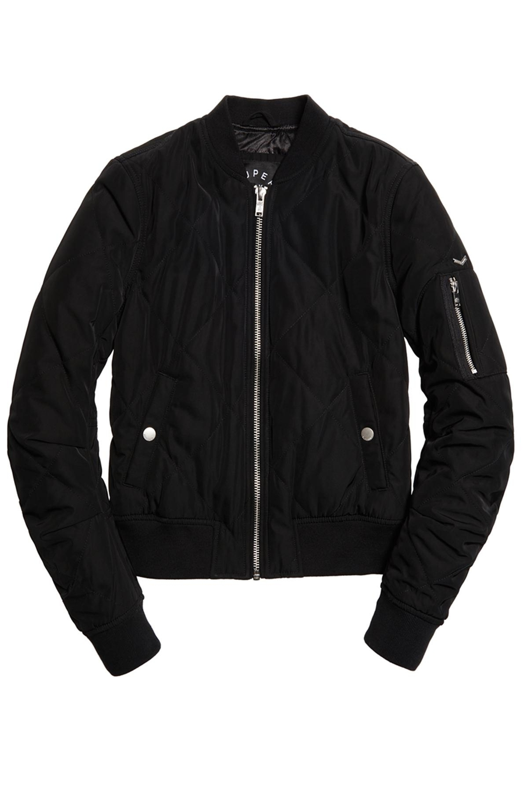 Superdry Quilted Utility Jacket - Main Image