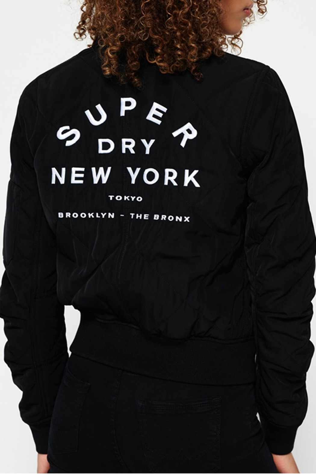 Superdry Quilted Utility Jacket - Front Full Image