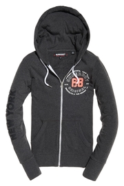 Superdry Terry Toweling Zip Hoodie - Product Mini Image