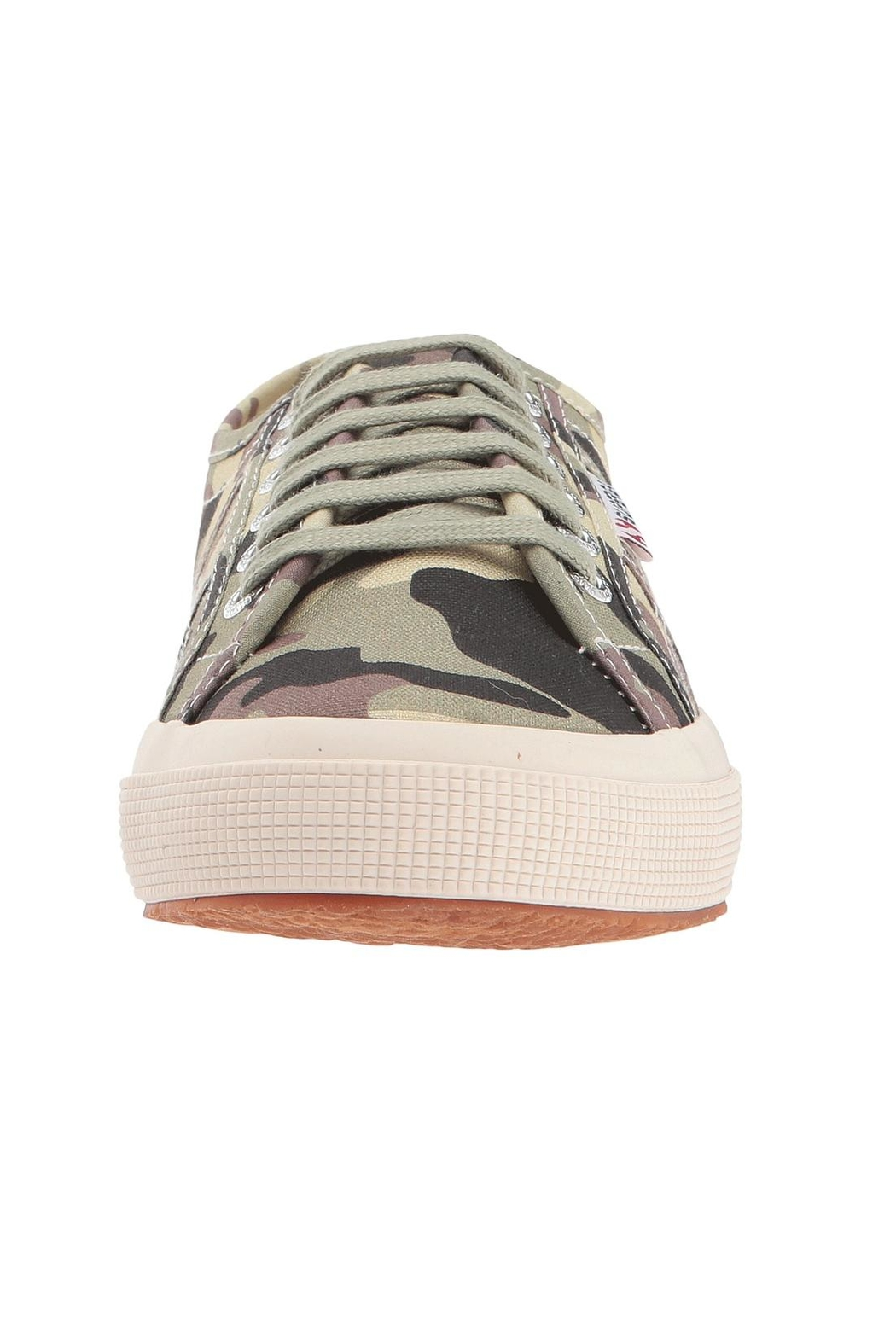 Superga Camouflage Sneakers - Front Full Image