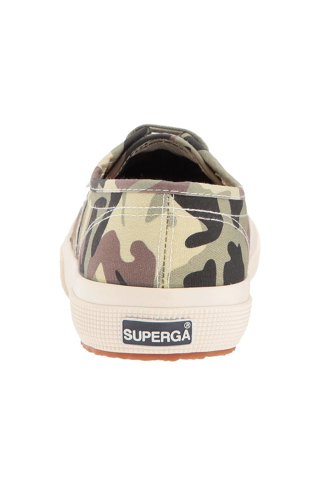 Superga Camouflage Sneakers - Side Cropped Image